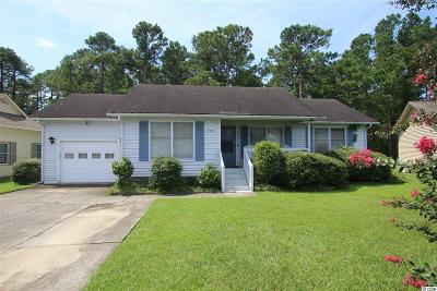 Murrells Inlet Single Family Home Active-Pending Sale - Cash Ter: 9445 Chicory Lane