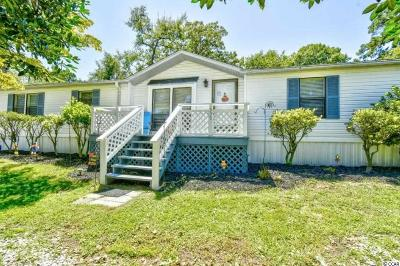 Murrells Inlet Single Family Home For Sale: 535 Cypress Ave