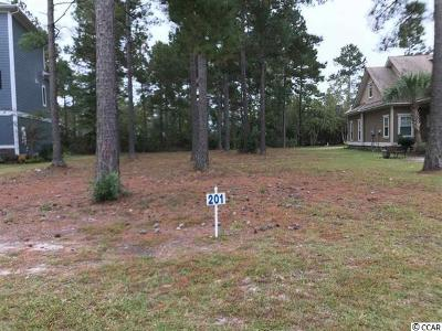 Georgetown County, Horry County Residential Lots & Land For Sale: Lot 201 Waterbridge Blvd.