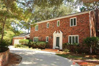 Pawleys Island Single Family Home For Sale: 1303 Crooked Oak