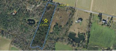 Horry County Residential Lots & Land For Sale: Lot 1 Winburn Rd.