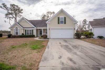 Murrells Inlet Single Family Home For Sale: 504 Crawley Place