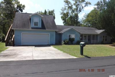 Cherry Grove Single Family Home For Sale: 1505 Magnolia Dr.