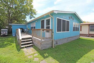 Surfside Beach Single Family Home For Sale: 1800 East Lake Dr.
