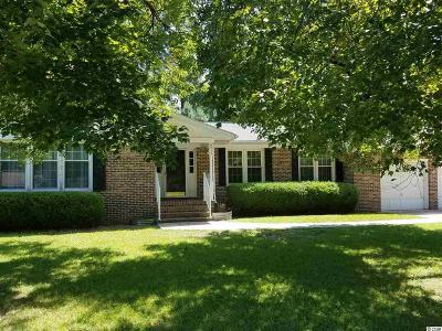 Loris Single Family Home For Sale: 4935 Circle Drive