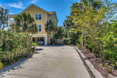 Murrells Inlet Single Family Home For Sale: 209-B Woodland Drive