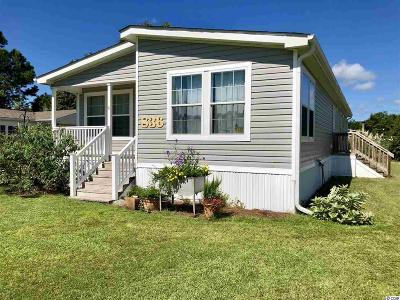 Murrells Inlet Single Family Home For Sale: 836 Rusty Anchor Ct.