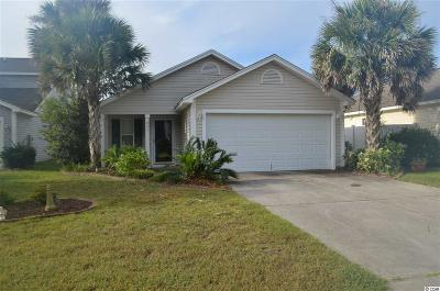 Myrtle Beach Single Family Home Active-Pend. Cntgt. On Financi: 845 Silvercrest