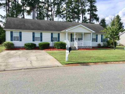 Myrtle Beach Single Family Home Active-Pend. Cntgt. On Financi: 7003 Walden Ct