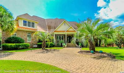 Murrells Inlet Single Family Home For Sale: 3398 Shadow Moss Ln.