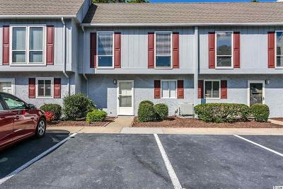 North Myrtle Beach Condo/Townhouse For Sale: 837 Villa Dr. #837