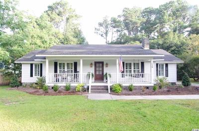 Pawleys Island Single Family Home For Sale: 138 Shipmaster Avenue