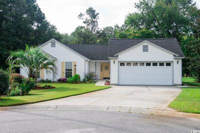 Murrells Inlet Single Family Home Active-Pend. Contingent Contra: 1203 Song Sparrow Court