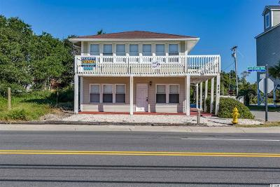 North Myrtle Beach Single Family Home For Sale: 800 S Ocean Blvd