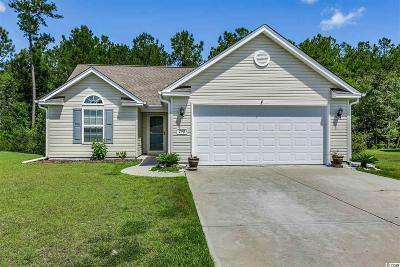 Myrtle Beach Single Family Home Active-Pending Sale - Cash Ter: 298 Caspian Tern Drive