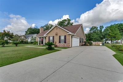 Conway Single Family Home For Sale: 3028 Jasmine Drive