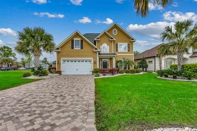 Myrtle Beach Single Family Home For Sale: 7016 Turtle Cove Drive