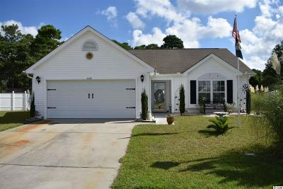 Myrtle Beach Single Family Home For Sale: 4608 Cypress Bay Ct