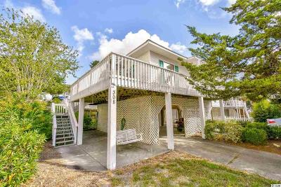 North Myrtle Beach Single Family Home For Sale: 308 Hillside Drive S