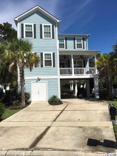 Surfside Beach Single Family Home Active-Pend. Cntgt. On Financi: 21 South Beach Dr.