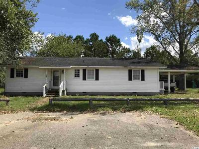 Loris SC Single Family Home For Sale: $74,900