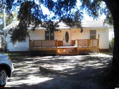 Myrtle Beach SC Single Family Home For Sale: $39,900