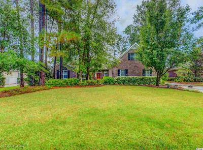 Murrells Inlet Single Family Home For Sale: 172 Long Ridge Dr.