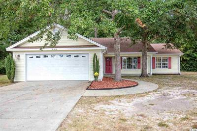 Conway Single Family Home For Sale: 550 Crusade Circle