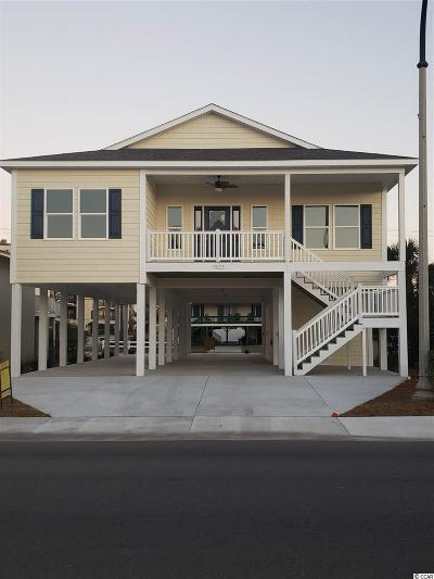 North Myrtle Beach Single Family Home For Sale: 1923 N Ocean Blvd