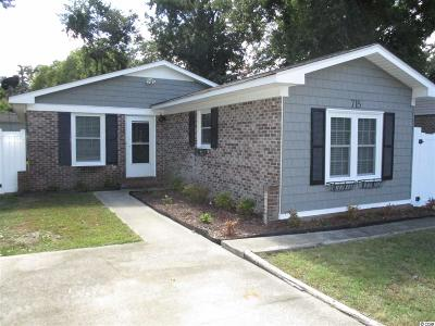 Surfside Beach Single Family Home For Sale: 715 Cypress Drive