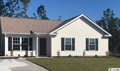 Myrtle Beach Single Family Home Active-Pend. Cntgt. On Financi: 187 Fountain Pointe Lane