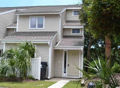 Surfside Beach Condo/Townhouse For Sale: 600 Deer Creek Road #D