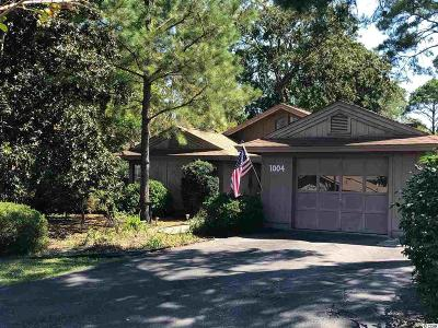 Myrtle Beach SC Single Family Home For Sale: $315,000