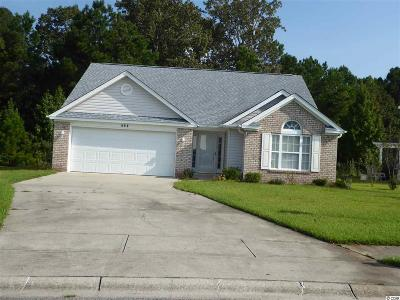 Myrtle Beach SC Single Family Home For Sale: $194,900