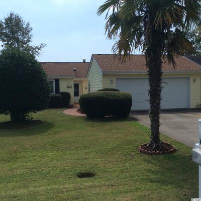 Myrtle Beach Single Family Home For Sale: 607 Glen Eagles Dr