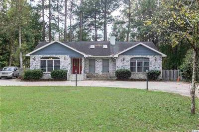 Conway SC Single Family Home For Sale: $169,000
