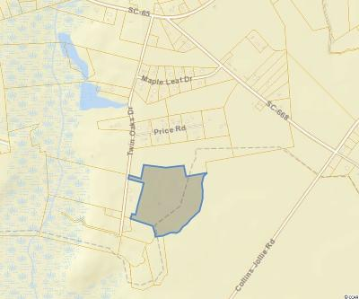 Georgetown County, Horry County Residential Lots & Land For Sale: Tbd Twin Oaks Dr.