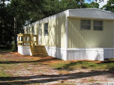 Myrtle Beach SC Single Family Home Active-Pending Sale - Cash Ter: $39,900