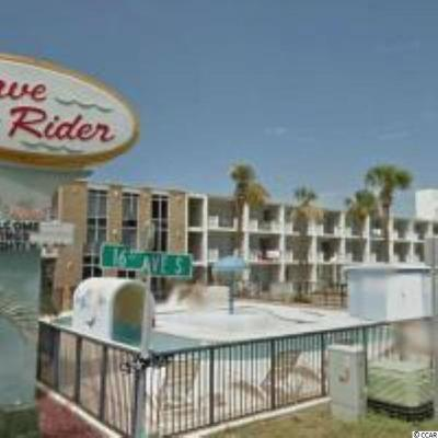 Myrtle Beach Condo/Townhouse Active-Pend. Cntgt. On Financi: 1600 S Ocean Blvd. #118