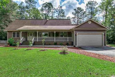 Loris Single Family Home For Sale: 556 Long Leaf Dr.