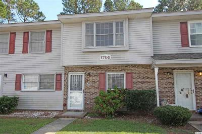 Surfside Beach Condo/Townhouse Active-Pend. Cntgt. On Financi: 1708 Fawn Vista Dr. N #F-3