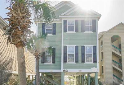 Surfside Beach Single Family Home For Sale: 811b S Ocean Blvd.