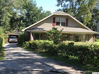 Horry County Single Family Home Active-Pend. Contingent Contra: 4511 Harrison St.