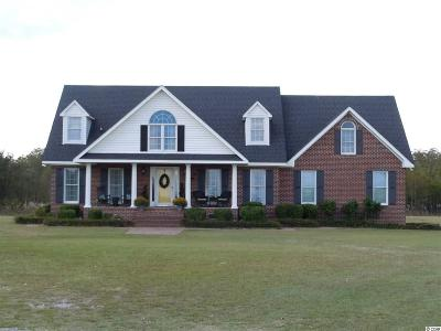 Tabor City Single Family Home For Sale: 10083 Sidney Cherry Grove Rd.