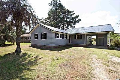 Georgetown SC Single Family Home For Sale: $144,900