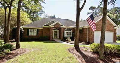 Pawleys Island Single Family Home For Sale: 1822 Club Circle