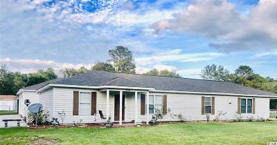 Mullins SC Single Family Home For Sale: $129,900