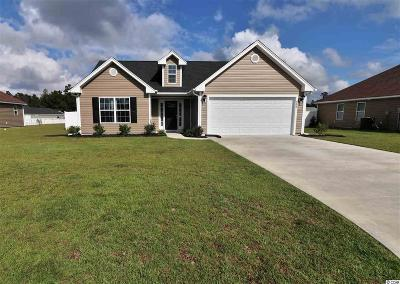 Horry County Single Family Home Active-Pend. Cntgt. On Financi: 332 Millbrook Circle