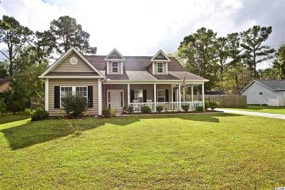 Myrtle Beach SC Single Family Home Active-Pend. Contingent Contra: $249,900
