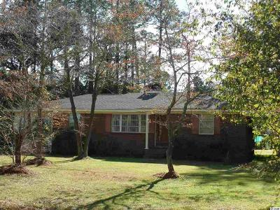 Loris SC Single Family Home For Sale: $134,000